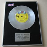 ELO ELECTRIC LIGHT ORCHESTRA - HOLD ON TIGHT PLATINUM Single Presentation Disc
